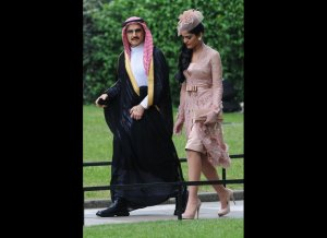 Saudi top Price and his Punjabi wife
